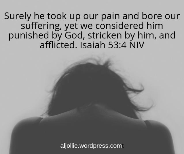 Isaiah 53_4 NIV